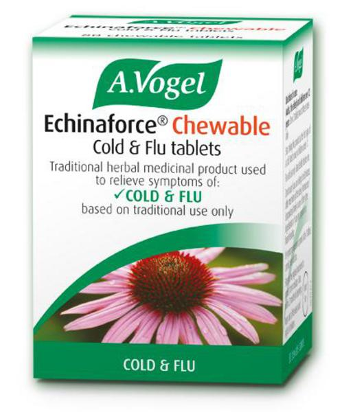 Echinaforce Chewable Cold & Flu Echinacea