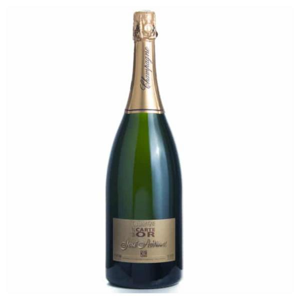 Champagne Wine Carte D'Or France Magnum 12% Vegan, ORGANIC