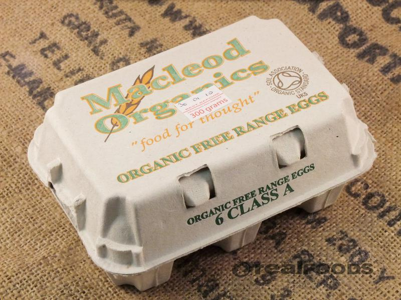 Free Range Eggs Medium Scotland ORGANIC