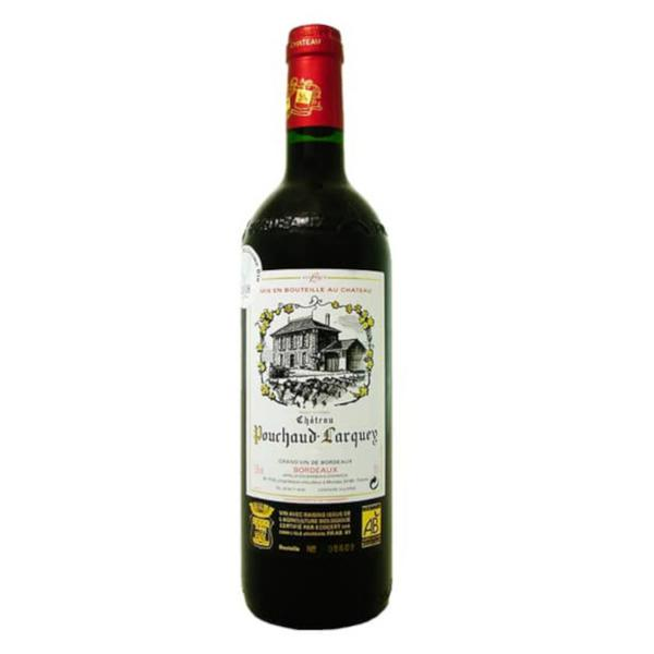 Red Wine Bordeaux Rouge France 12.5% ORGANIC