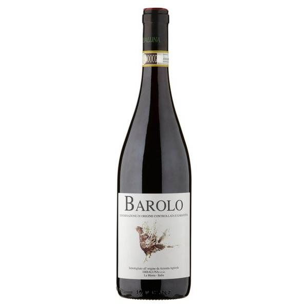 Sparkling Drinks Alcoholic: Organic Red Wine Barolo 14% In 75cl From Erbaluna