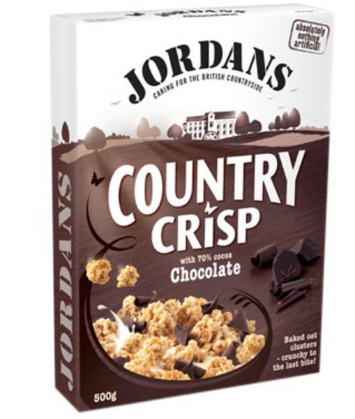 Chocolate Country Crisp Cereal GMO free, no added salt