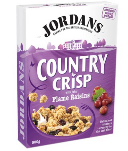Country Crisp Flame Raisins Cereal