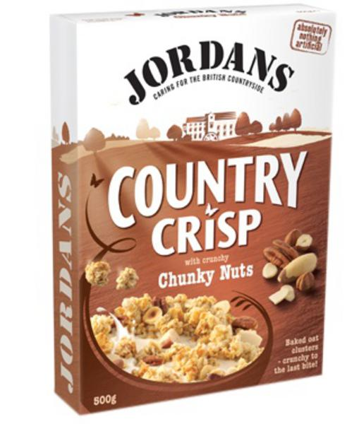 Country Crisp Cereal Chunky Nuts