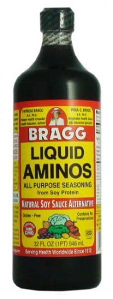 Liquid Aminos Gluten Free, GMO free