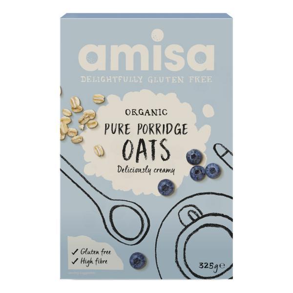 Pure Porridge Oats Gluten Free, ORGANIC