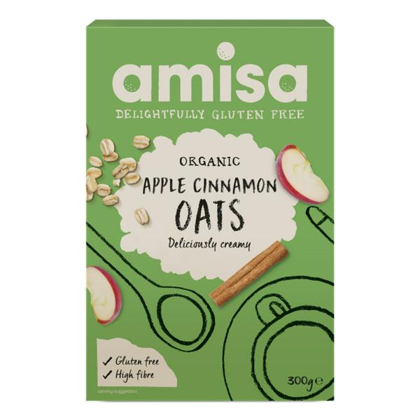 Apple & Cinnamon Porridge Oats Gluten Free, ORGANIC