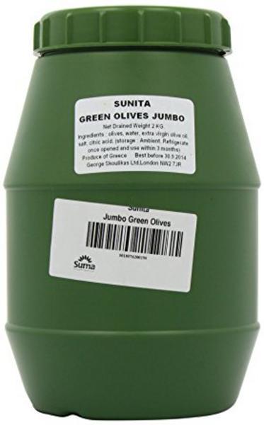Green Jumbo Olives