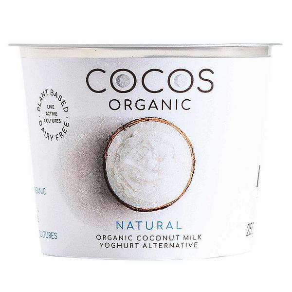 Coconut Yoghurt Small Gluten Free, no sugar added, Vegan