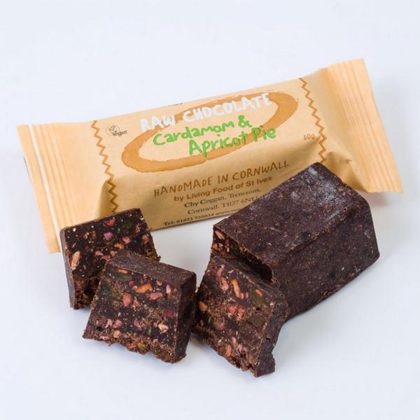 Raw Chocolate Pie St Ives