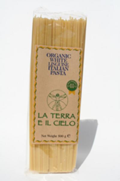 White Linguine Pasta ORGANIC