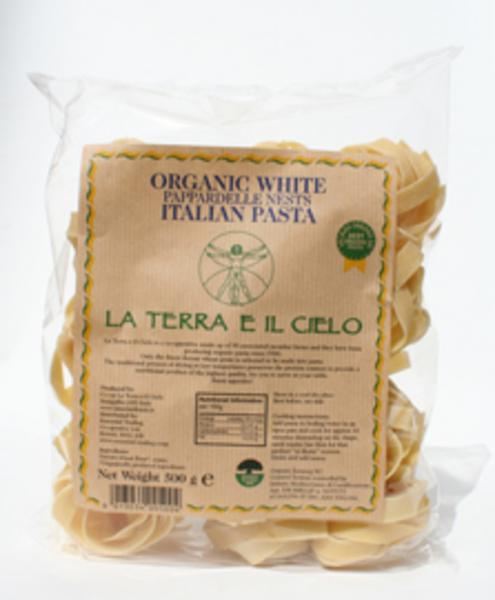White Pasta Pappardelle ORGANIC