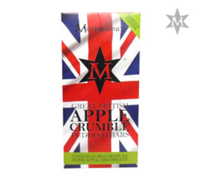 Great British Pudding Apple Crumble Chocolate