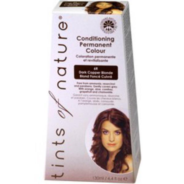 Dark Copper Blonde Hair Dye 6R Vegan