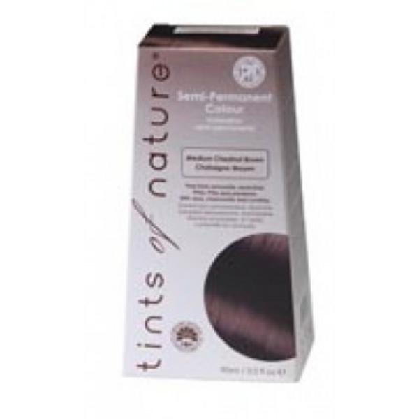 Medium Chestnut Brown Hair Dye Semi Permanent 4MCB Vegan