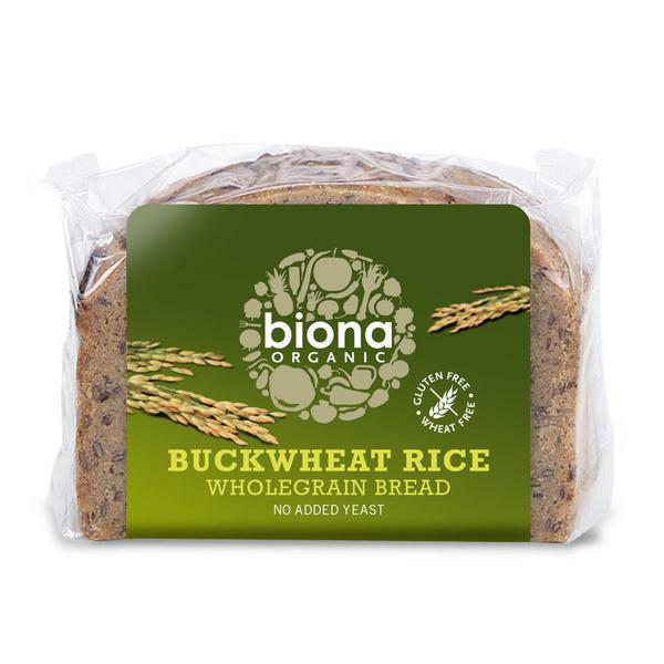 Buckwheat Rice Bread Gluten Free, ORGANIC