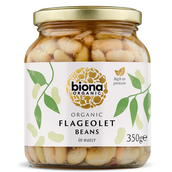 Flageolet Beans Vegan, ORGANIC