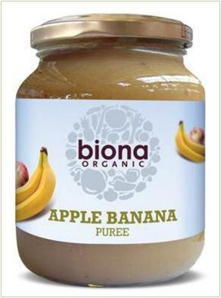 Apple & Banana Puree no added sugar, ORGANIC