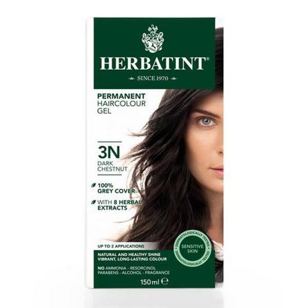 Permanent Hair Colourant Dark Chestnut Brown 3N