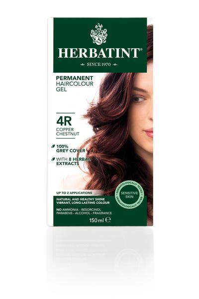 Copper Chestnut Hair Dye 4R Vegan