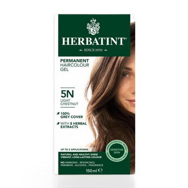 Hair Colourant Light Chestnut Brown 5N