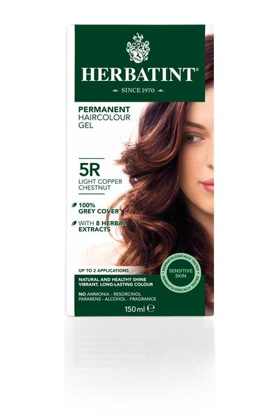 Light Copper Chestnut Hair Dye 5R Vegan