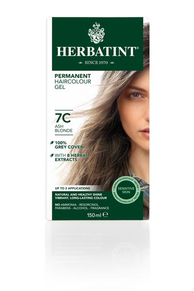Ash Blonde Hair Dye 7C Vegan