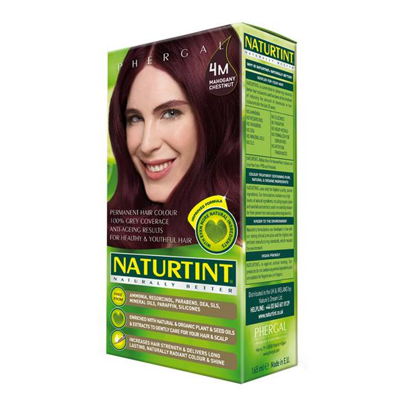 Permanent Hair Colourant Mahogany Chestnut 4M Vegan