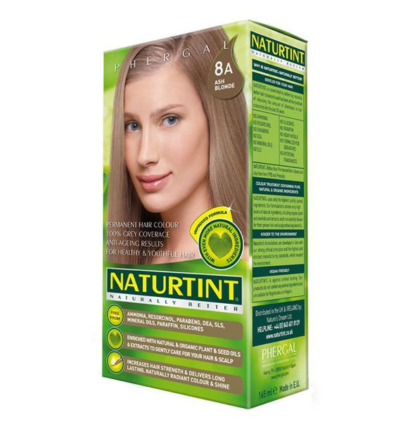 Permanent Hair Colourant Ash Blonde 8A Vegan