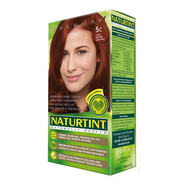 Permanent Hair Colourant Light Copper Chestnut 5C Vegan