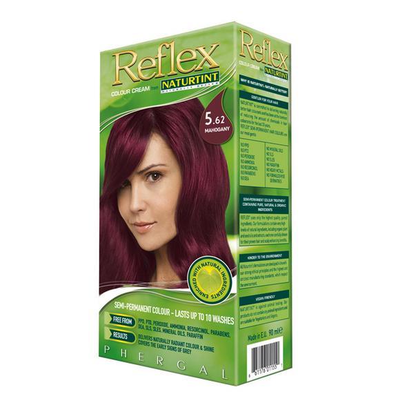 Semi Permanent Hair Colourant Mahogany 5.62 Vegan