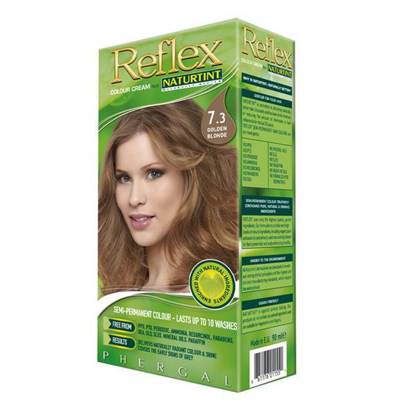 Non Permanent Reflex Hair Colourant Golden Blonde 7.3 Vegan