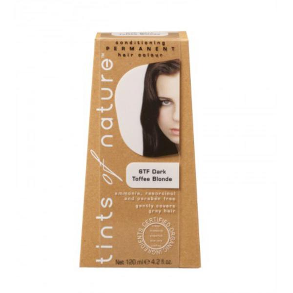 Dark Toffee Blonde Hair Dye 6TF Vegan