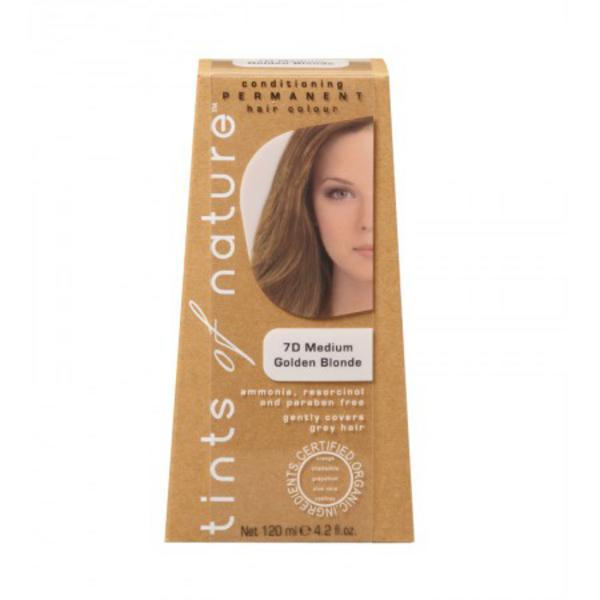Medium Golden Blonde Hair Dye 7D Vegan