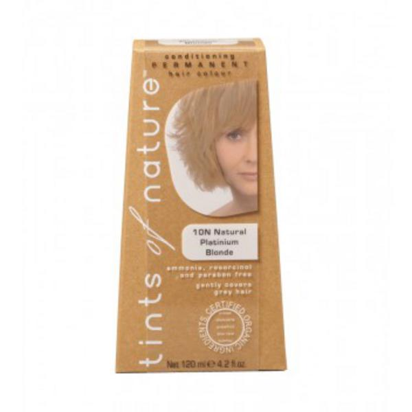 Natural Platinum Blonde Hair Dye 10N Vegan
