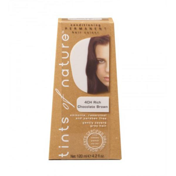 Rich Chocolate Brown Hair Dye 4CH Vegan