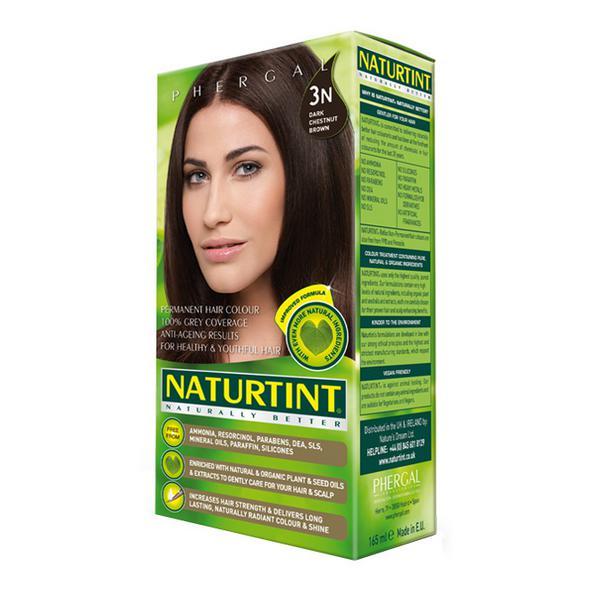 Permanent Hair Colourant Dark Chestnut Brown 3N Vegan