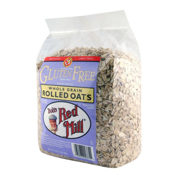 Bob's Red Mill Pure Rolled Oats gluten free 400g