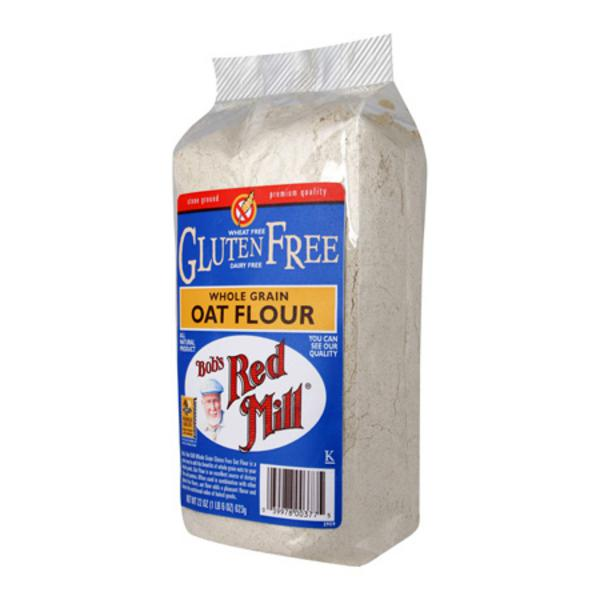 Wholegrain Oat Flour in 400g from Bob's Red Mill