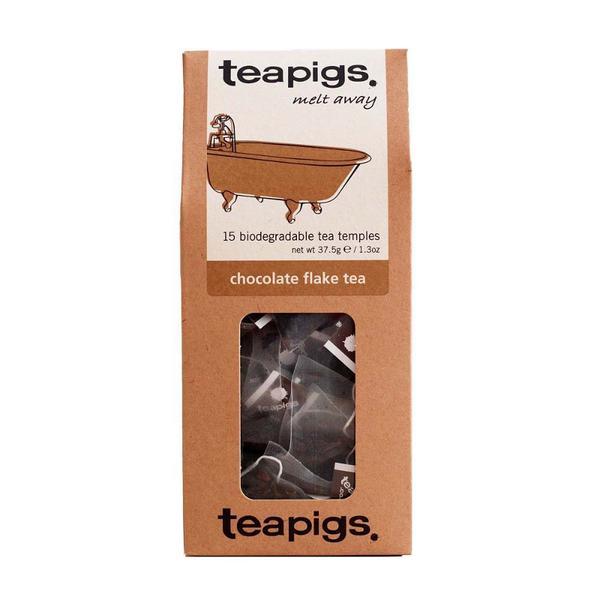 Chocolate Flakes & Assam Tea