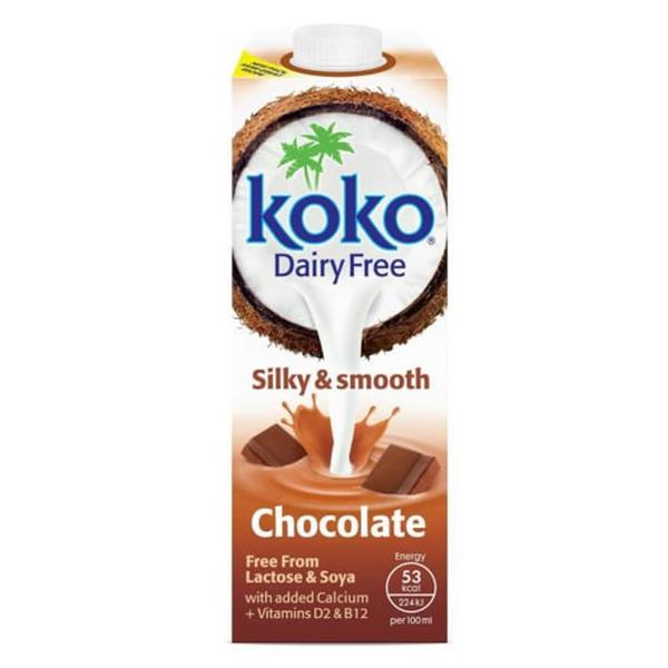 Coconut,Chocolate & Calcium Drink dairy free, low fat
