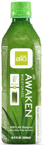 Awaken Aloe Vera & Wheatgrass Juice
