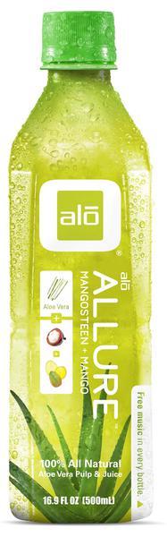 Allure Aloe Vera,Mangosteen & Mango Juice