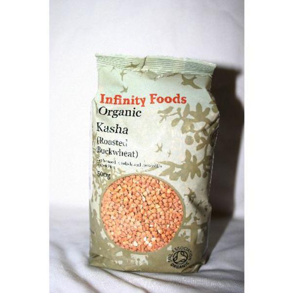 Buckwheat Roasted Kasha Gluten Free, ORGANIC