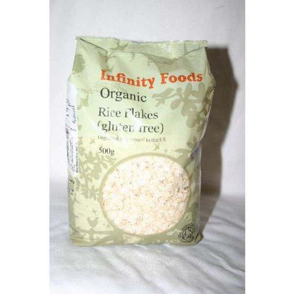 Rice Flakes No Gluten Containing Ingredients, ORGANIC