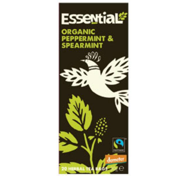Peppermint & Spearmint T-Bags FairTrade, Demeter ORGANIC