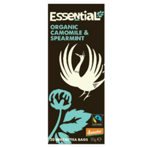Chamomile & Spearmint Tea FairTrade, Demeter ORGANIC