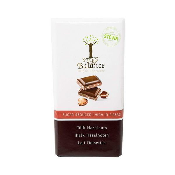 Hazelnut Milk Chocolate with Stevia