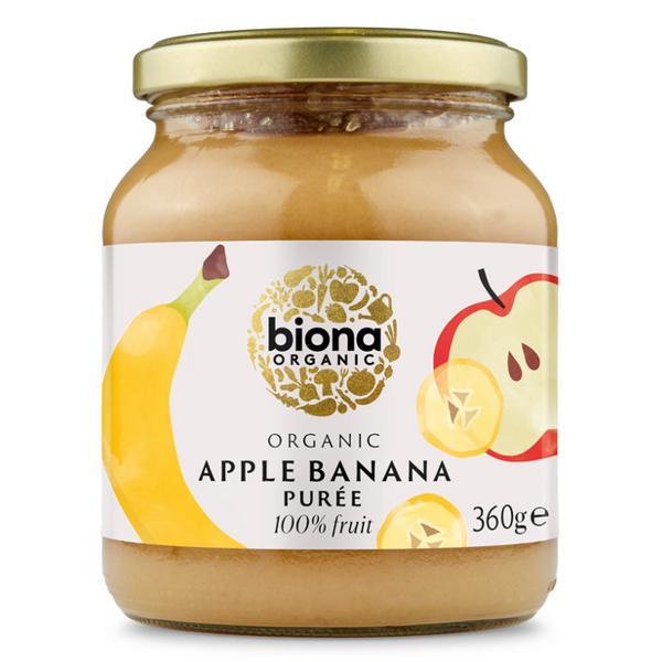 Apple & Banana Puree no added sugar, ORGANIC