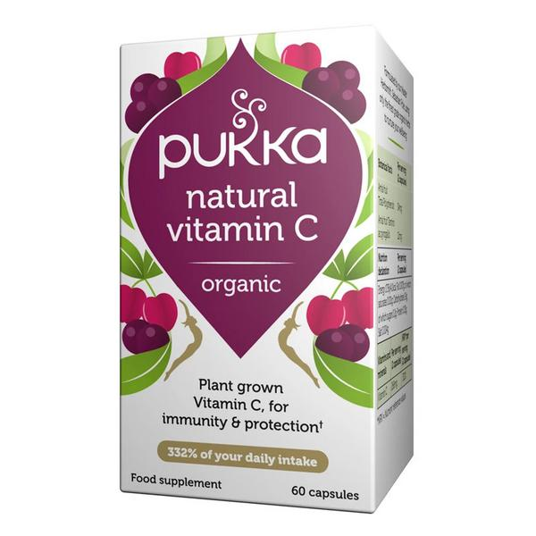 Natural Vitamin C Vegan, ORGANIC